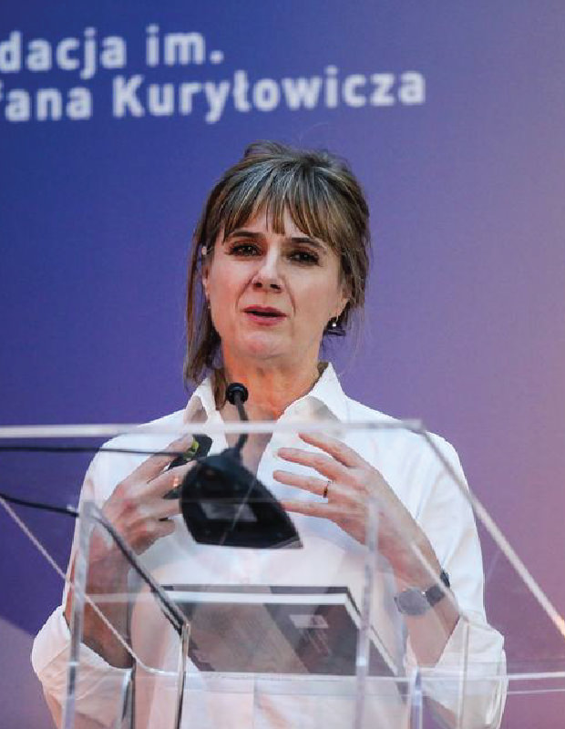 The Stefan Kurylowicz Foundation: Lecture with Amanda Levete in Warsaw