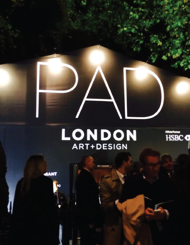 First visit and a first impression – PAD London 2015