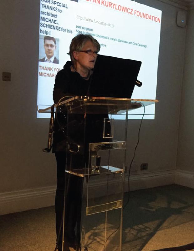 The Stefan Kurylowicz Foundation - Lecture at RIBA: No problem – Architecture!