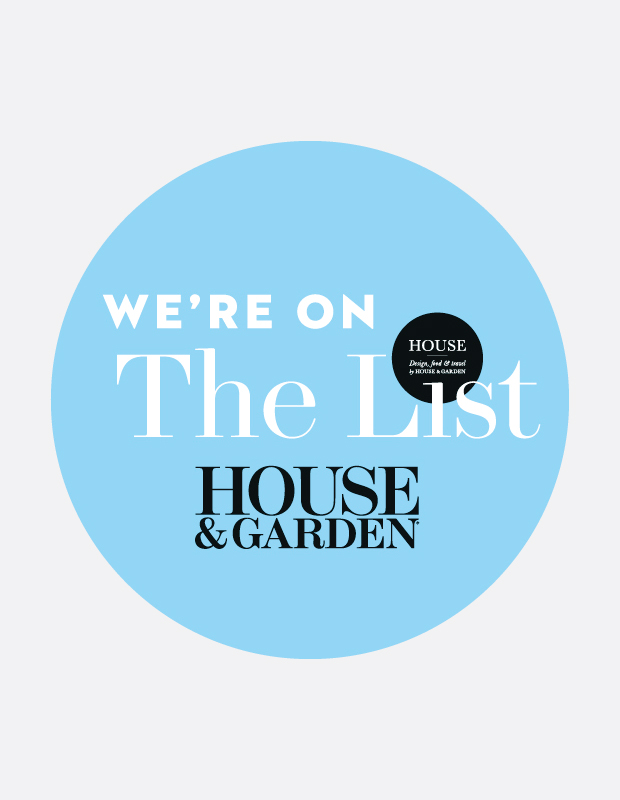 VORBILD Architecture on The List by House and Garden!