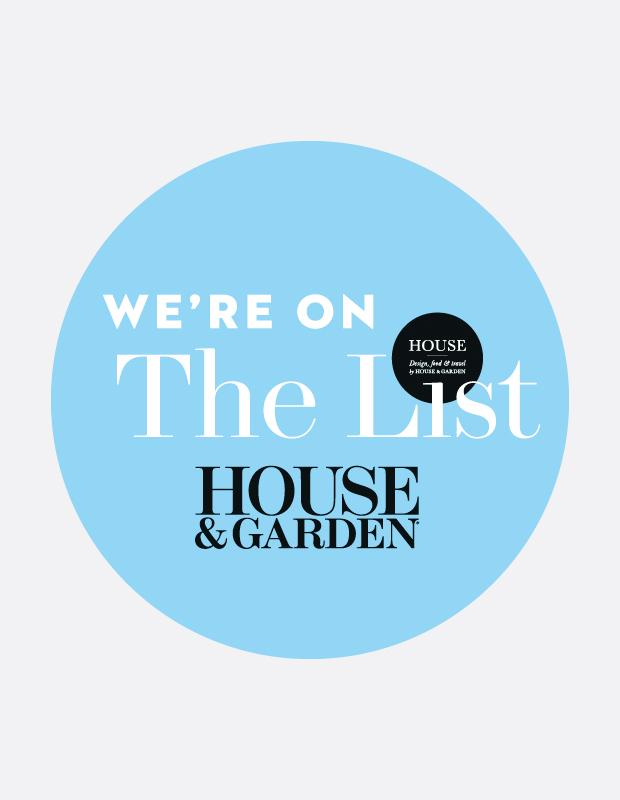 VORBILD Architecture on The List by House and Garden!