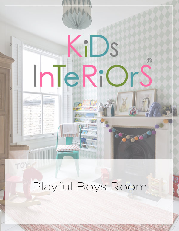 Zac's Playful Boys Room from Kid's Interiors