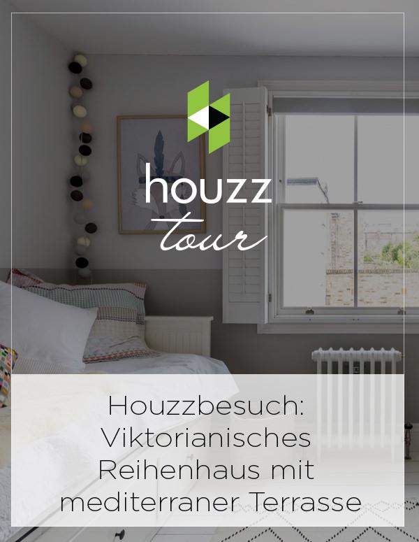 Houzz Tour Germany: Houzzbesuch: Viktorianisches Reihenhaus mit mediterraner Terrasse