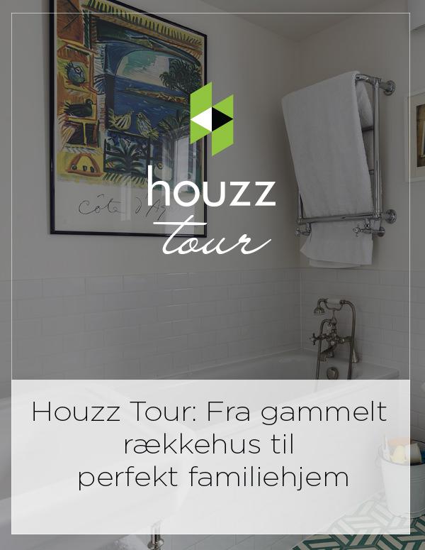 Houzz Tour Denmark: Fra gammelt rækkehus til perfekt familiehjem