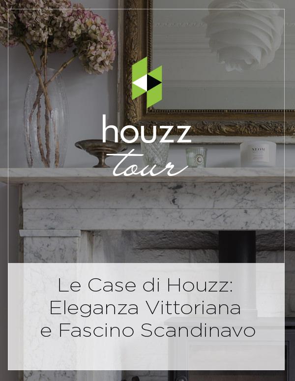 Houzz Italy: Le Case di Houzz: Eleganza Vittoriana e Fascino Scandinavo