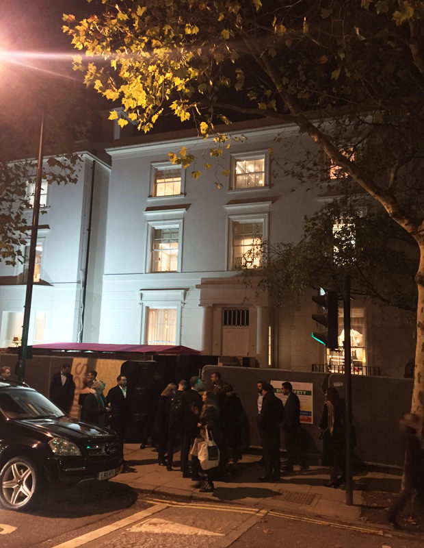 Opening night of The Holiday House London
