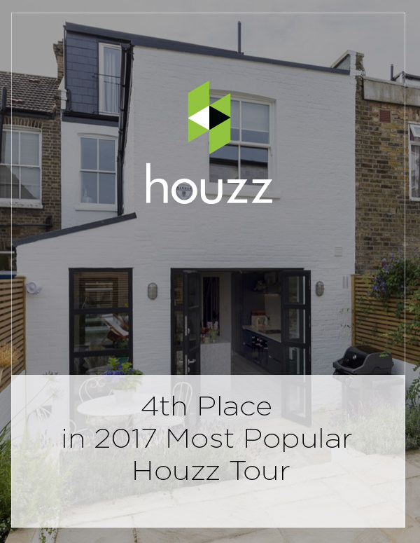 4th Place in 2017 Most Popular Houzz Tour