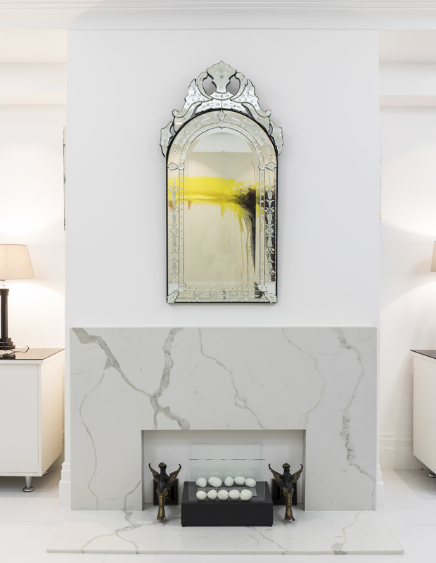 Living Room design with a Bioethanol fireplace