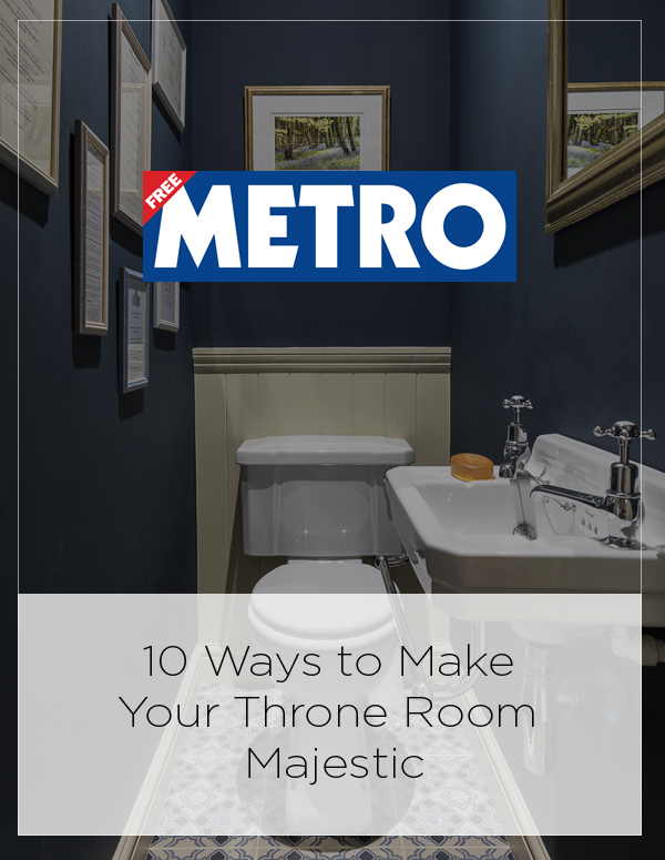 Metro Feature:  10 Ways to Make Your Throne Room Majestic