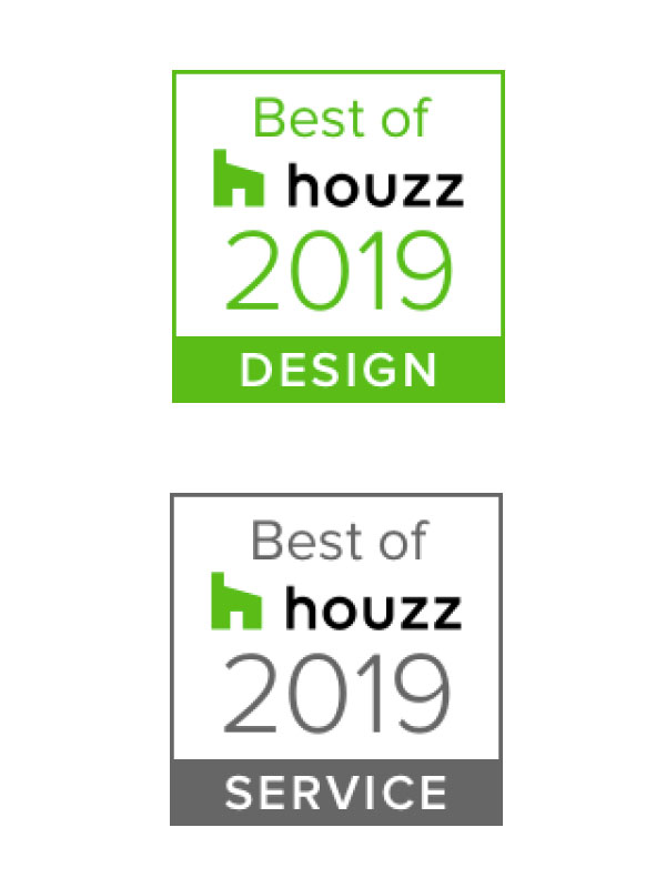 Winner of The Best of Houzz Design and Service 2019 Awards