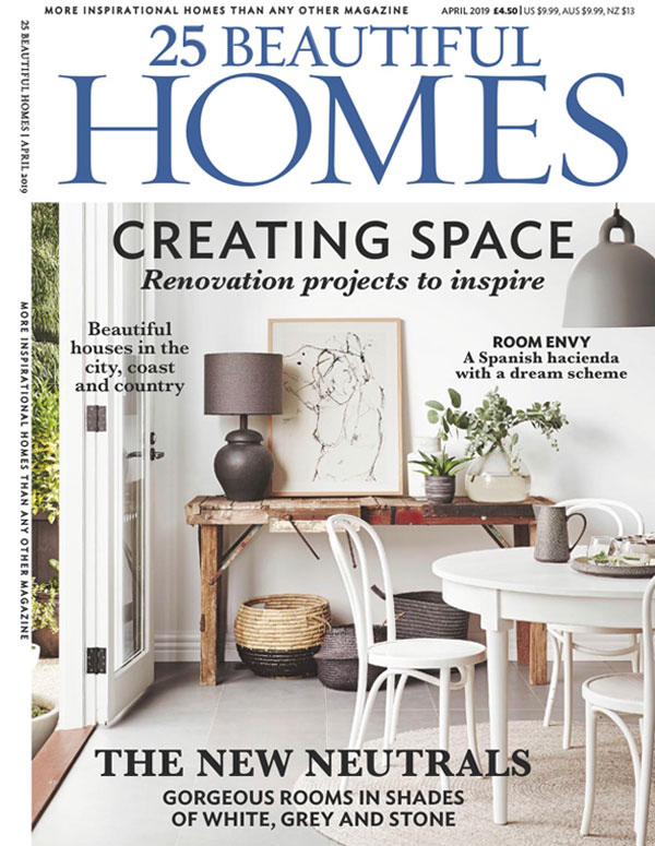 25 Beautiful Homes, April 2019, Clear Vision