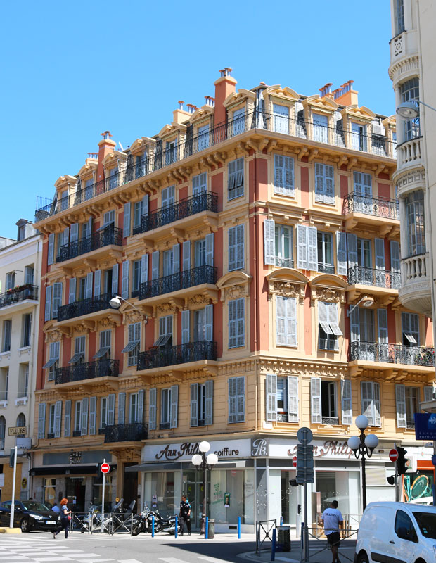 Haussmannian Style Architecture in Nice, France