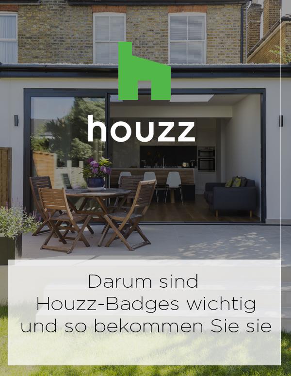 Houzz: Darum sind Houzz-Badges wichtig – und so bekommen Sie sie