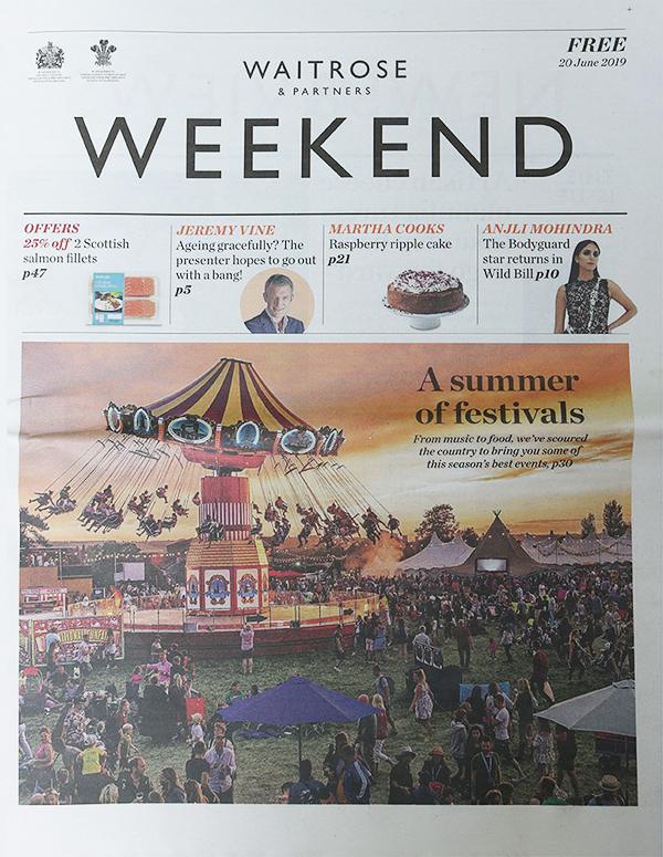 Waitrose Weekend: Planning a New Look
